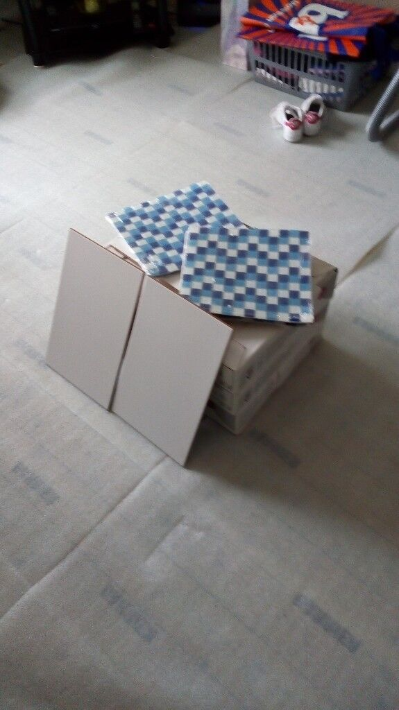 6 boxes of large white wall tiles | in Anniesland, Glasgow | Gumtree