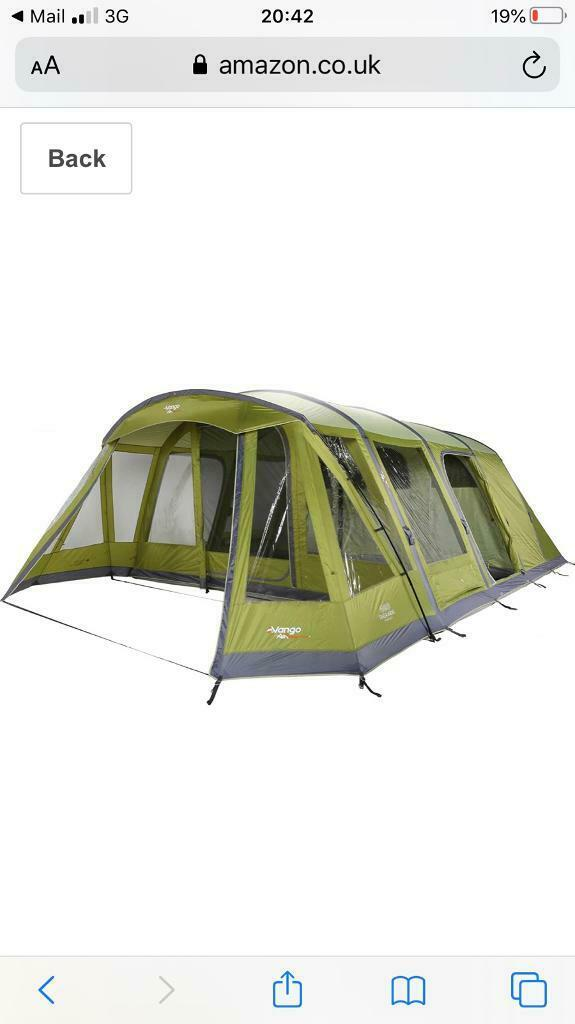 Vango Taiga 600 XL Airbeam Tent | in Troon, South Ayrshire | Gumtree