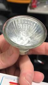 Free used GU10 20w bulb x 12