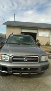 Parting Out a 2002 Nissan Pathfinder Manitoba Preview