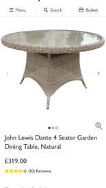 Dante garden table