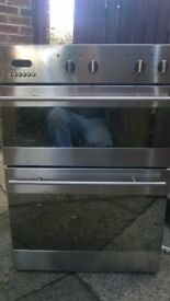 double chrome and mirrored oven