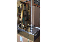 LPG CANMAC 4 Burner Doner Kebab Machine ( GOLD )