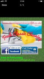 Domestic and office cleaner Cardiff