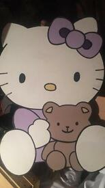 FREE!! Hello Kitty Characters - Perfect for children's galaday