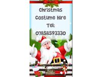 Christmas Fancy Dress Hire. Santa, Mrs. Claus, Faries, Snow Queen & more.