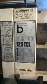 Boxford Training Lathe model number 125TCL