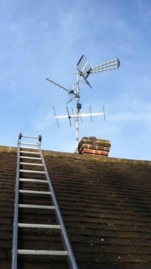 Digital aerials supplied and fitted