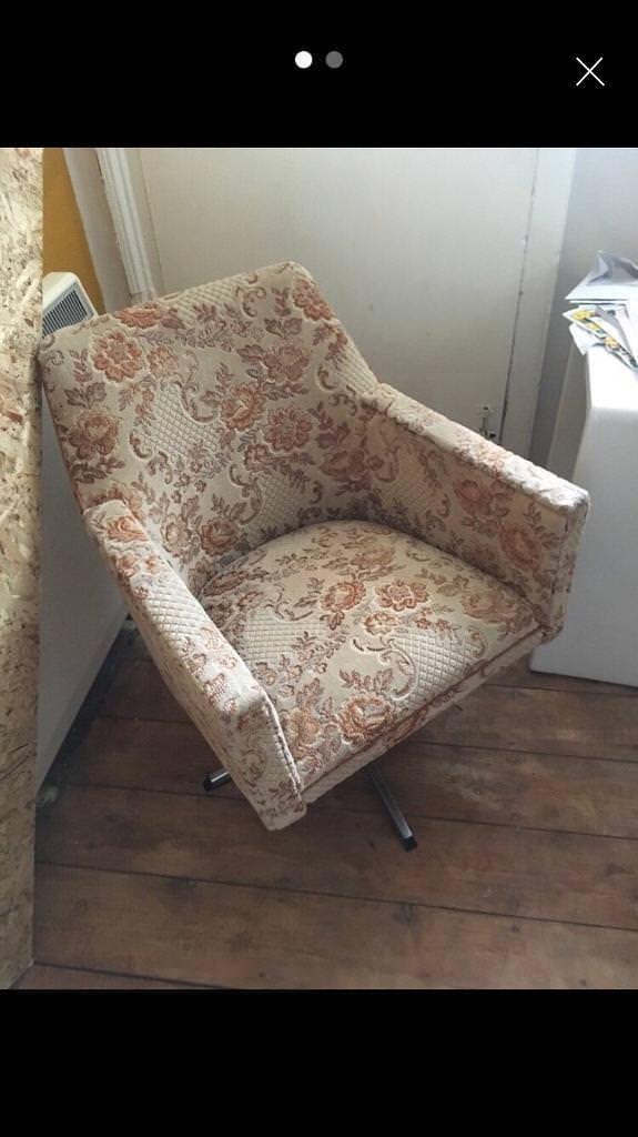 Retro vintage mid century chair