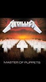 Metallica Master of Puppets Original Press Vinyl