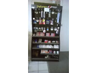 Stationary Display Unit and Stock