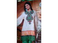 New UNSTITCHED Pakistani Suit