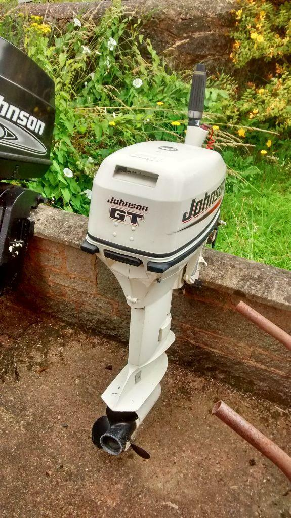 Johnson gt10 10hp 2 stroke outboard engine in exeter for 10 hp outboard jet motor