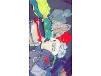 Baby boy clothes including 5 coats (job lot)