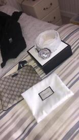 Selling Gucci set messenger bag and belt will sell as a set or individually