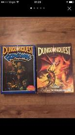 Dungeonquest and catacombs , games workshop