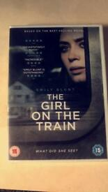 Girl on the train brand new DVD