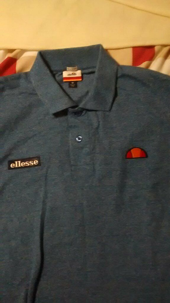 c0268c41 New Genuine Sample Ellesse Heritage - Marl Light Blue Polo Shirt Size  Medium | in Kippax, West Yorkshire | Gumtree