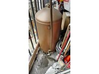 Copper tank // Old Boiler // Scrap Metal