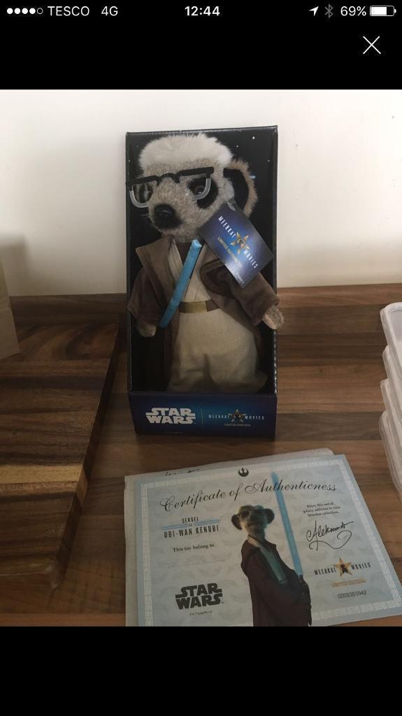 Star Wars Meerkat- Limited Edition