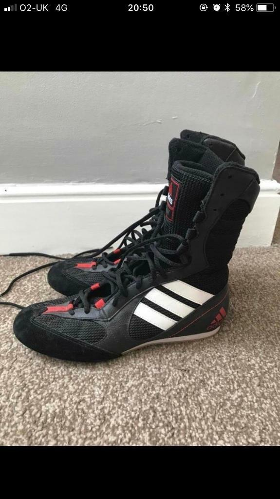 Adidas tygun boxing trainers U.K. 5.5  44fe2c4d9