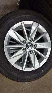 Brand New 195 65 15 Bridgestone Turanza on OEM VW Golf Jetta alloy rims 5 x 112 -- $799