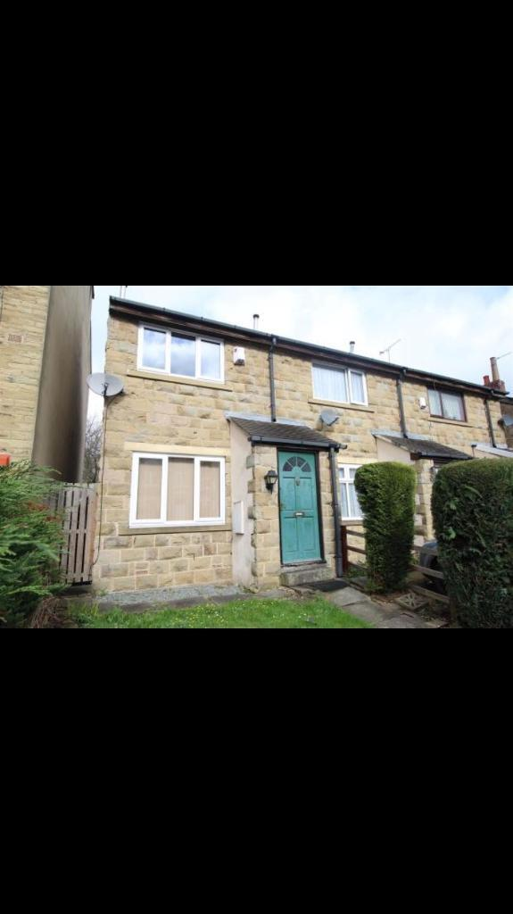 TO LET - END TERRACE 2 BEDROOM HOUSE