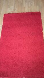 Rectangle red rug!