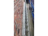 aluminium double ladders