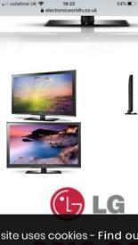 42 LG 42CS460 Full HD 1080p Digital LCD TV comes with original LG box!!