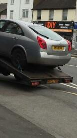 Scrap cars and vans waned