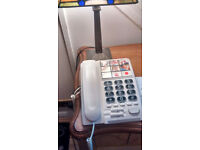Telephone Handset, corded and amplified