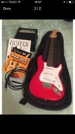 Squier Strat Guitar (mini)