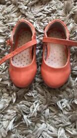 Size 4 orange girls next shoes