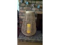 Outdoor/Indoor Bamboo Candle lamp.