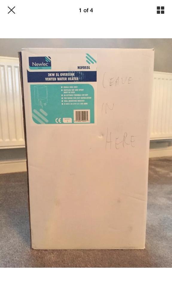 Newlec 2kw 5L oversink vented water heater