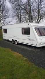 Elddis Bermuda touring caravan 2005 model