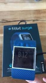 FITBIT SURGE BLUE SIZE SMALL