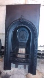 victorian Fire insert, upstairs bedroom one original piece