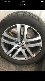 16inch genuine VW alloys of mark 6 golf