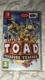 Captain toad switch game