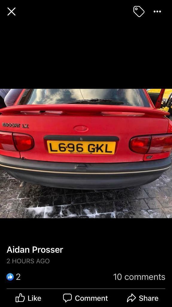 1994 ford escort 66000 miles 2 owners full history mot till jan great car |  in Benfleet, Essex | Gumtree