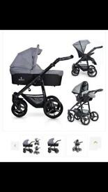 Venicci . 3 in 1 travel system Denim Grey/Black