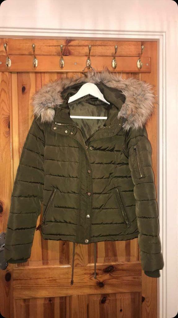 incredible prices 100% top quality elegant in style Karki Green Top Shop Coat | in Blaydon-on-Tyne, Tyne and Wear | Gumtree
