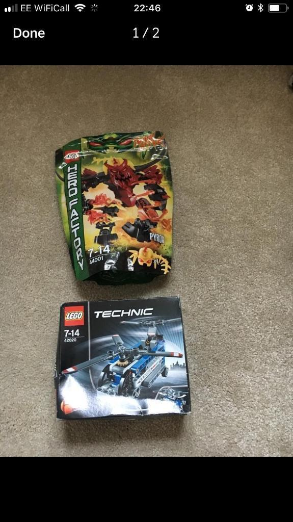 Lego unwanted gifts boxed new great presents boy technic / hero