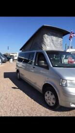 Vw t5 pop top lwb Camper,4 berth,1 owner from new,full service history