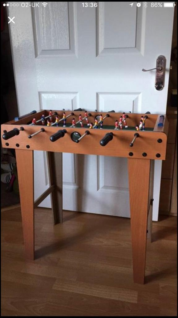 Football table (mini) on legs
