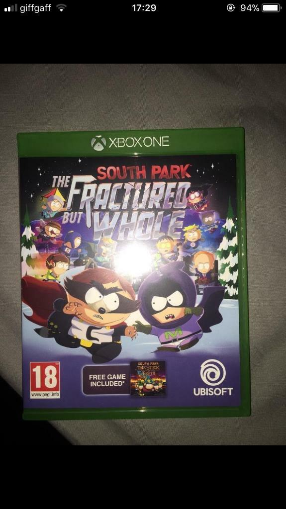 South Park The Fractured But Whole & The Stick Of Truth
