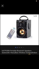 Bluetooth speaker £30