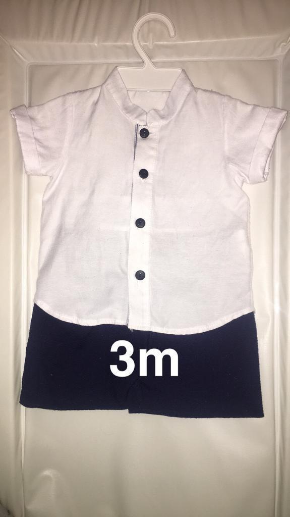 Navy shirt setin Darlington, County DurhamGumtree - Navy blue shirt set 3 months .,Good condition, pick up only